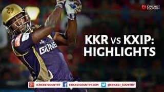 Kolkata Knight Riders vs Kings XI Punjab, IPL 2015 Match 44: Glenn Maxwell show, rampant Andre Russell and other highlights