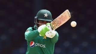 Zimbabwe vs Pakistan, 1st ODI: Pakistan make steady start after being put in to bat