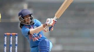 1st T20I: India Women amass 166 vs Sri Lanka Women