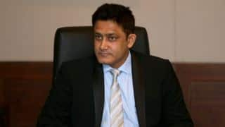Kumble to stay as IND coach for WI series subject to his acceptance, says Rai