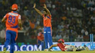 IPL 2016: Jadeja reprimanded for showing dissent during GL vs KXIP, Match 28 at Rajkot