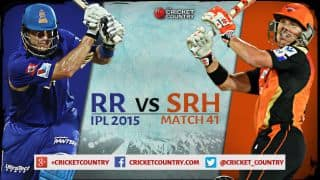 Rajasthan Royals vs Sunrisers Hyderabad IPL 2015 Match 41 Preview: RR aim to maintain momentum in clash vs SRH