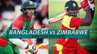 Bangladesh vs Zimbabwe 2015-16 2nd T20I at Khulna, Preview: Visitors look to draw level