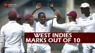 Australia vs West Indies 2015-16: Marks out of 10 for the visitors