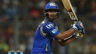Ambati Rayudu dismissed for 65 by Akshar Patel against KXIP in IPL 2016