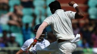 India vs England 2nd Test, Day 3: Jonathan Bairstow departs for 53; Umesh Yadav strikes