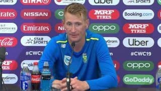 Chris Morris urges fans to 'keep faith' after India defeat