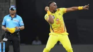 Video: Dwayne Bravo takes stunner to dismiss Yusuf Pathan; holds record of most caught and bowled in T20 cricket