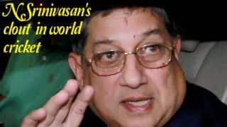 Srinivasan manages to find his way through controversies