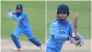 महिला वर्ल्ड कप: पहले ही मैच में बजा टीम इंडिया की बल्लेबाजी का डंका, इंग्लैंड को दिया 282 रनों का लक्ष्य