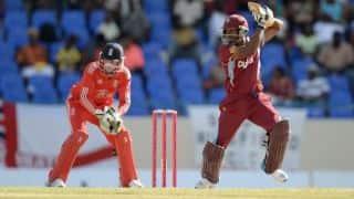West Indies vs England, 1st T20I at Barbados Live Scorecard