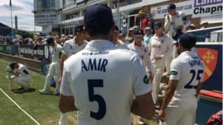 Mohammad Aamer stars with pink ball for Essex