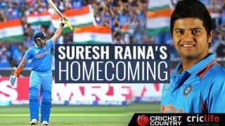 India vs New Zealand 2nd ODI: Suresh Raina's homecoming