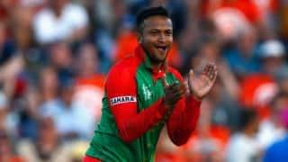 Shakib Al Hasan becomes 1st Bangladesh player to take 50 T20I wickets