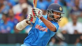 Shikhar Dahwan and Virat Kohli bring up 50-run stand for 2nd wicket against South Africa in ICC Cricket World Cup 2015