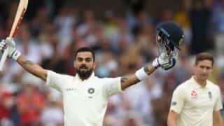 विराट कोहली ने जड़ा टेस्ट करियर का 23वां शतक, मजबूत स्थिति में भारत