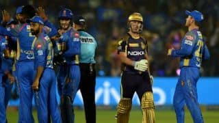 IPL 2018 Eliminator, KKR vs RR, Updates, Eliminator: Karthik nears 50