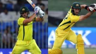 3rd ODI: Aaron Finch, Glenn Maxwell guide Australia to 266/6 against Pakistan