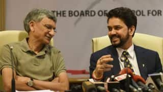 Anurag Thakur, Ajay Shirke, other office bearers' names wiped off from BCCI website