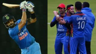 Watch Virat Kohli share his success mantra with Afghanistan cricket team