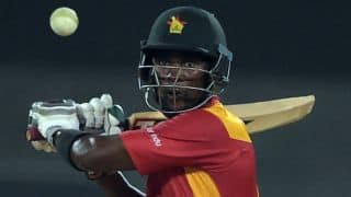 Pakistan vs Zimbabwe 2015: Elton Chigumbura suspended for 2 games due to slow over-rate