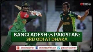 Bangladesh vs Pakistan 2015, 3rd ODI at Dhaka, Preview