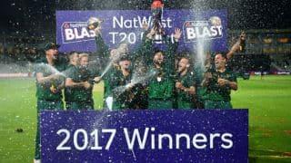 नॉटिंघमशायर ने जीता नेटवेस्ट टी20 ब्लास्ट का खिताब, फाइनल में वारविकशायर को हराया