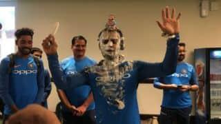 Virat Kohli turns 29; celebrates birthday with India teammates