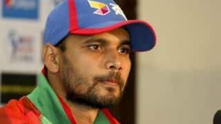 Bangladesh vs Zimbabwe 2015: Mashrafe Mortaza unhappy with batsmen after 1st T20I