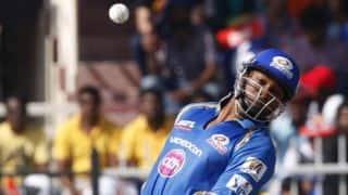 Mumbai Indians vs Royal Challengers Bangalore IPL 2014 match 27: Rohit, Pollard lead Mumbai's recovery
