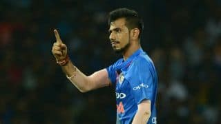 Chahal surpasses Nehra as India's third highest T20I wicket-taker