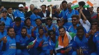 Team India asks Sports Minister to provide recognition to Cricket Association for Blind in India