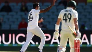 Ashwin becomes first Indian bowler to  dismiss Steve Smith for single digits in Tests in Australia
