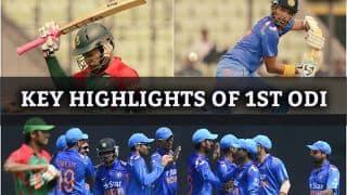 India vs Bangladesh, 1st ODI highlights