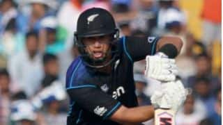 Tom Latham: Nice to see Ross Taylor spend some time in the middle