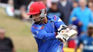 Afghanistan vs Scotland, ICC Cricket World Cup 2015, Pool A Match 17: Javed Ahmadi dismissed after half-century