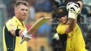 Marcus Stoinis says David Warner, Steve Smith return a massive boost for Australia