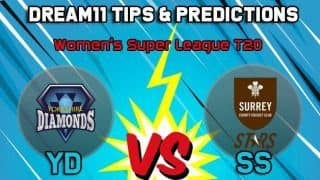 Dream11 Team Yorkshire Diamonds vs Surrey Stars Match 3 KSL 2019 KIA SUPER LEAGUE T20 – Cricket Prediction Tips For Today's T20 Match YD vs SS at Leeds