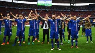 ENG 1-2 ICE, Live Football Score, England vs Iceland, Euro 2016 at Nice