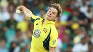 Adam Zampa: I think wrist spin is definitely the way forward