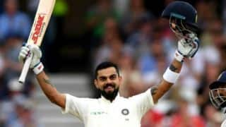 Record says India captain Virat Kohli is now only behind Don Bradman