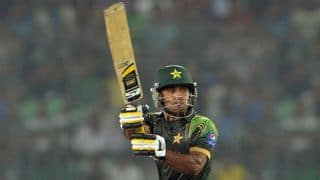 Hafeez: We didn't go out there thinking of past records