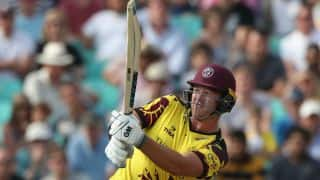 Corey Anderson returns to Somerset for T20s