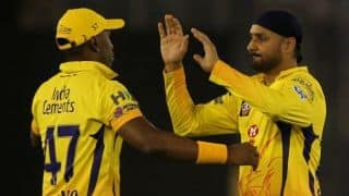IPL 2019 CSK vs SRH match 41, Chennai won toss, decided to bowl first, Harbhajan in for Shardul Thakur