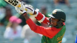 Bangladesh vs New Zealand, ICC Cricket World Cup 2015 Pool A match at Hamilton: 100 up for Bangladesh in 25th over