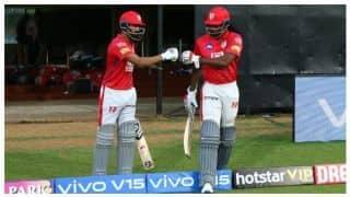 बैंगलुरू ने टॉस जीतकर पंजाब को पहले बल्लेबाजी के लिए बुलाया