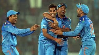 India vs West Indies ICC World T20 2014 Live Cricket Score Group 2 Match 17: India cruise to 7-wicket win