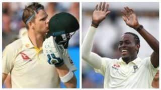लंदन टेस्ट: स्मिथ के अर्धशतक के बावजूद आर्चर के 6 विकेट ने इंग्लैंड को दिलाई बढ़त