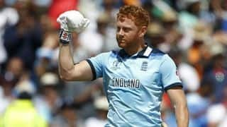 ICC CRICKET World Cup 2019: India vs England, Jonny Bairstow hits century, england sets 338 runs target for india