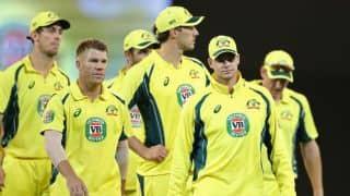 हार्दिक पांड्या को आउट करने के लिए अंपायर से उलझी ऑस्ट्रेलियाई टीम